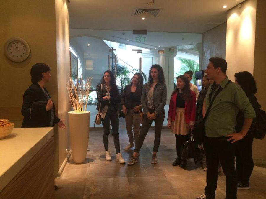 Studenti na praksi Visoka turistička škola