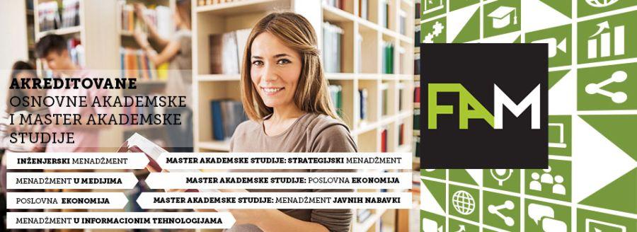 FAM studijski programi