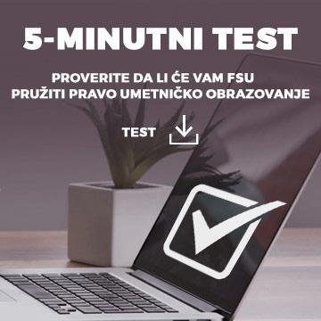 Fakultet savremenih umetnosti - test