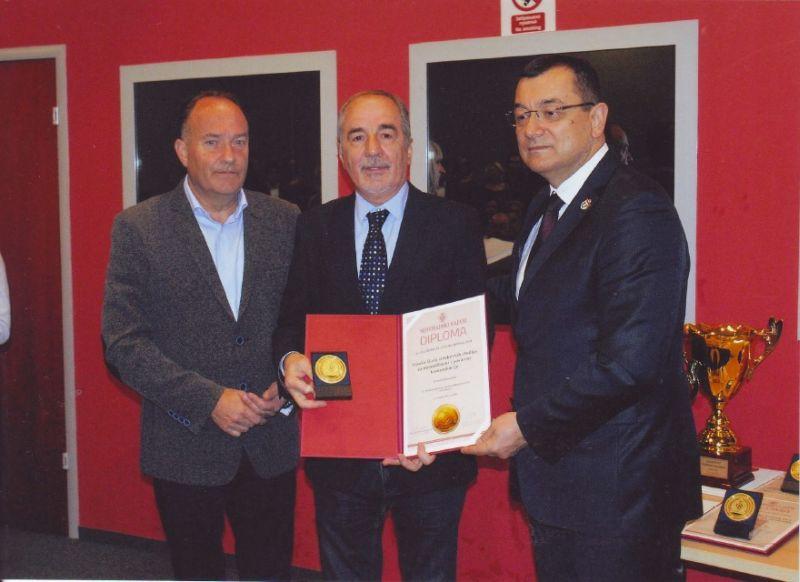 Zlatna medalja za MPK