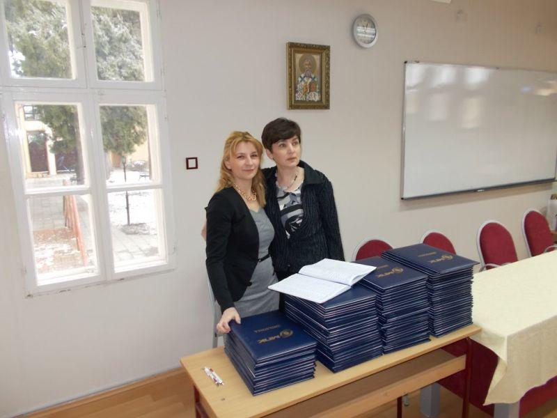Dodela diploma studentima 12. generacije